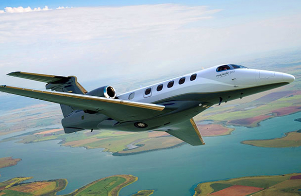 11-passenger private Executive jet
