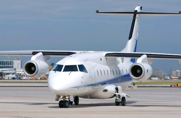 32-passenger private Executive jet